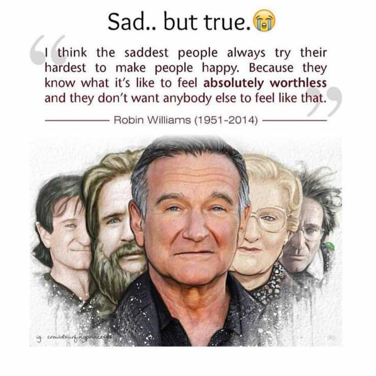 Image of: As One Who Suffers From Depression Can Really Relate To This Quote By Robin Williams Seems Like Have Tried My Entire Agnosticcom Agnosticcom As One Who Suffers From Depression Can Really Relate To This